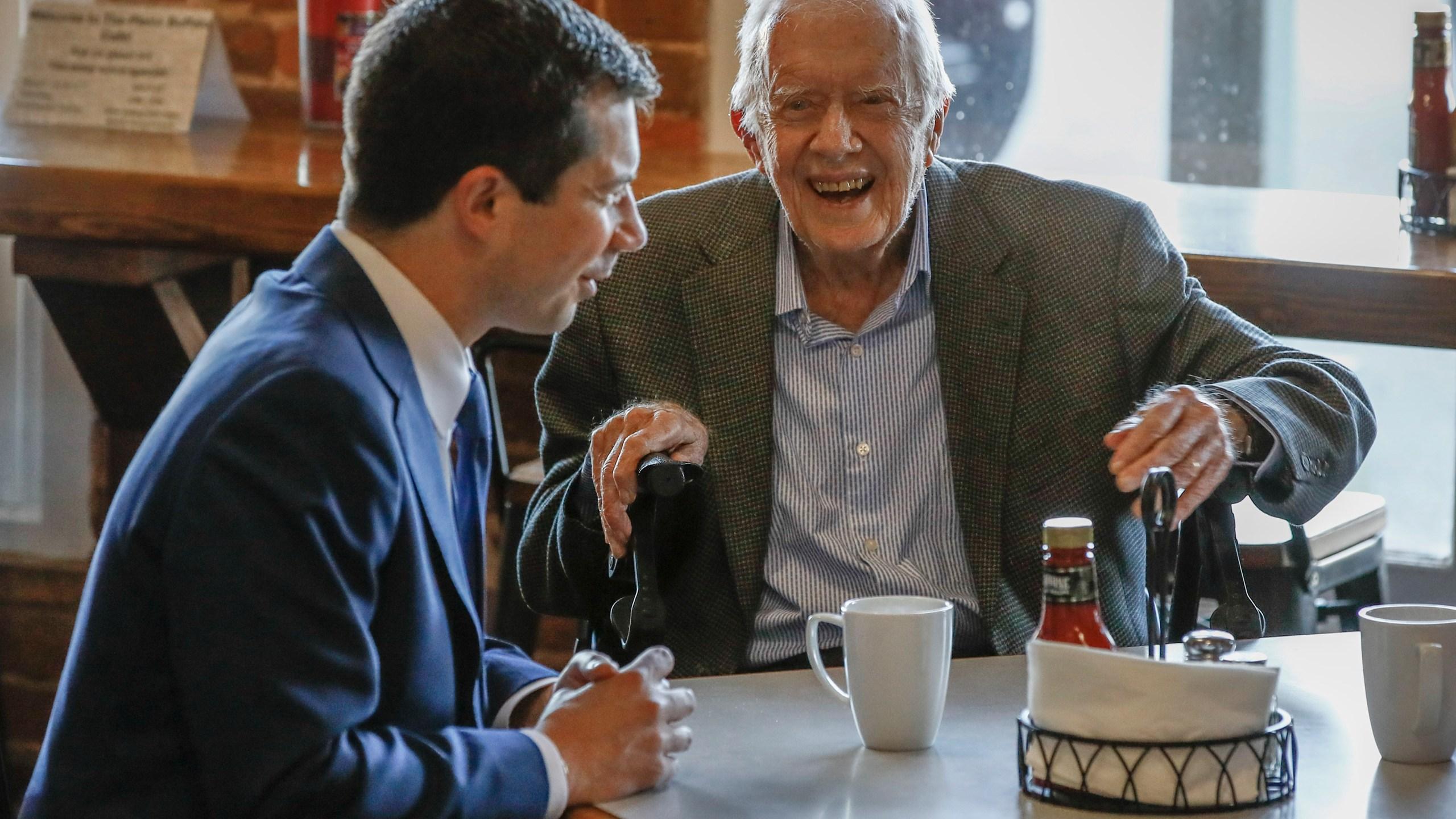 Pete Buttigieg, Jimmy Carter