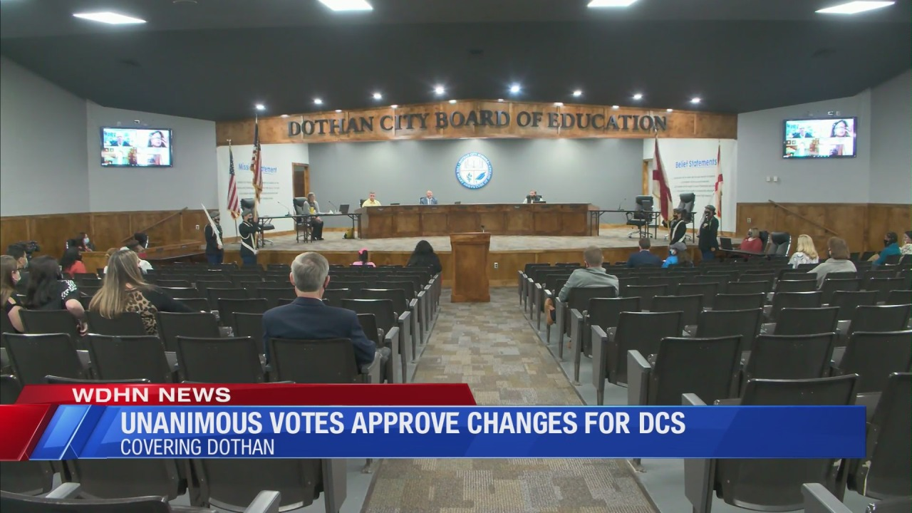 Dothan City Schools Calendar 2022 2023.Dcs Board Unanimously Votes To Approve Changes For 2021 2022 School Year Wdhn Dothanfirst Com