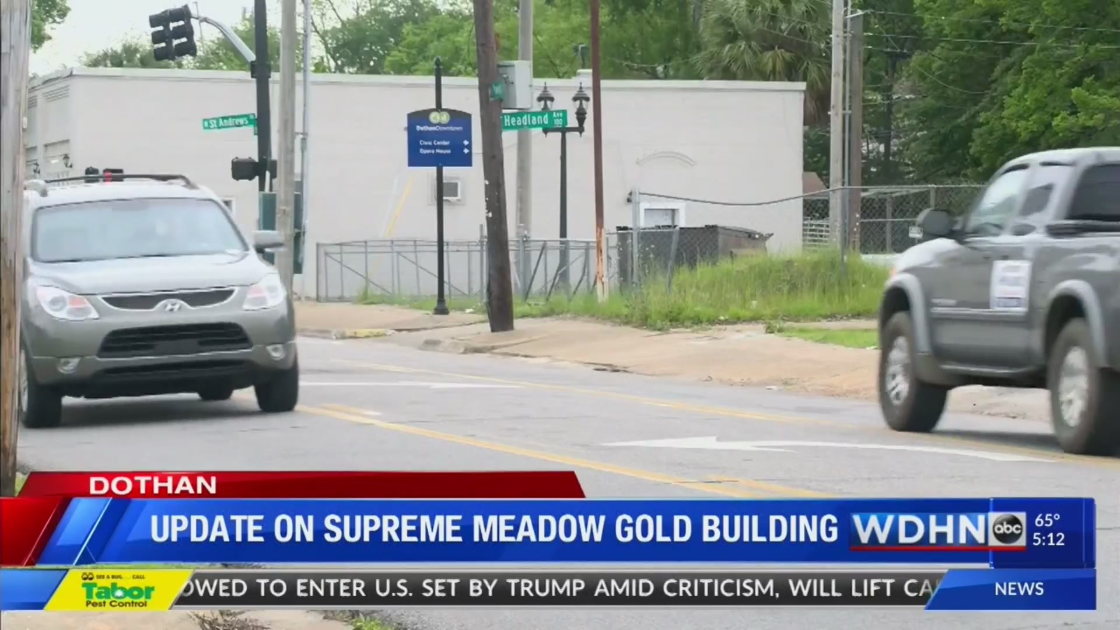 Update: Supreme Meadow Gold building