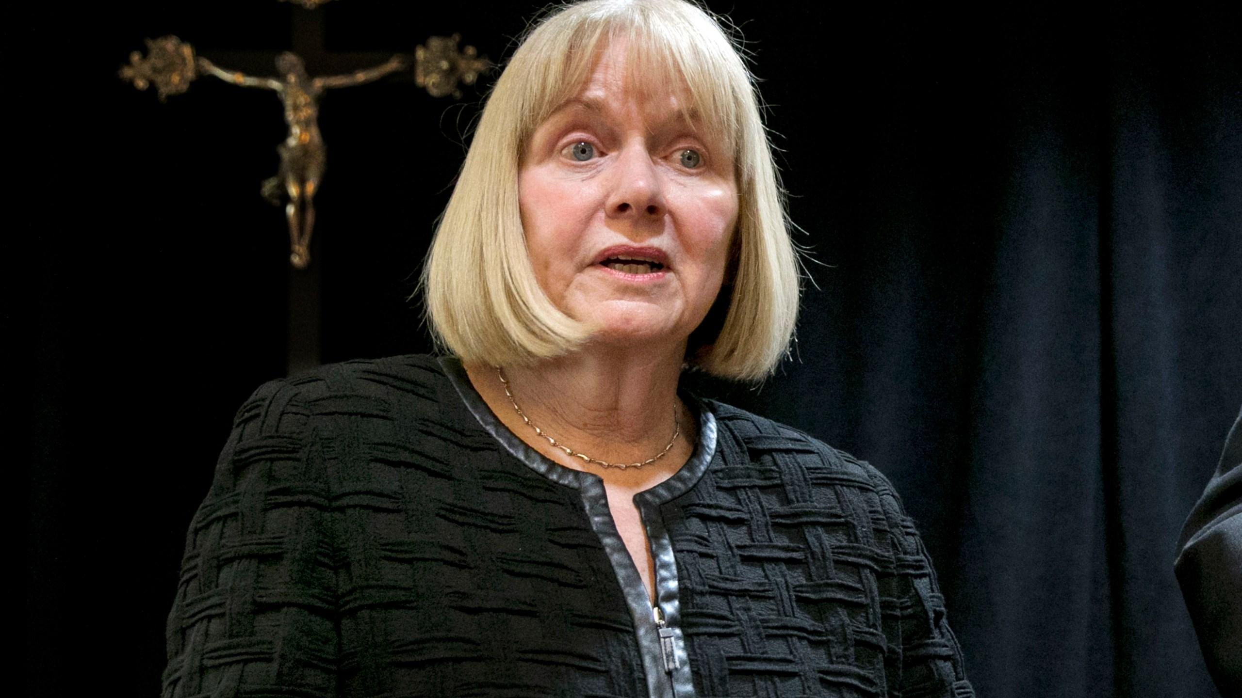 Barbara Jones, Timothy Dolan